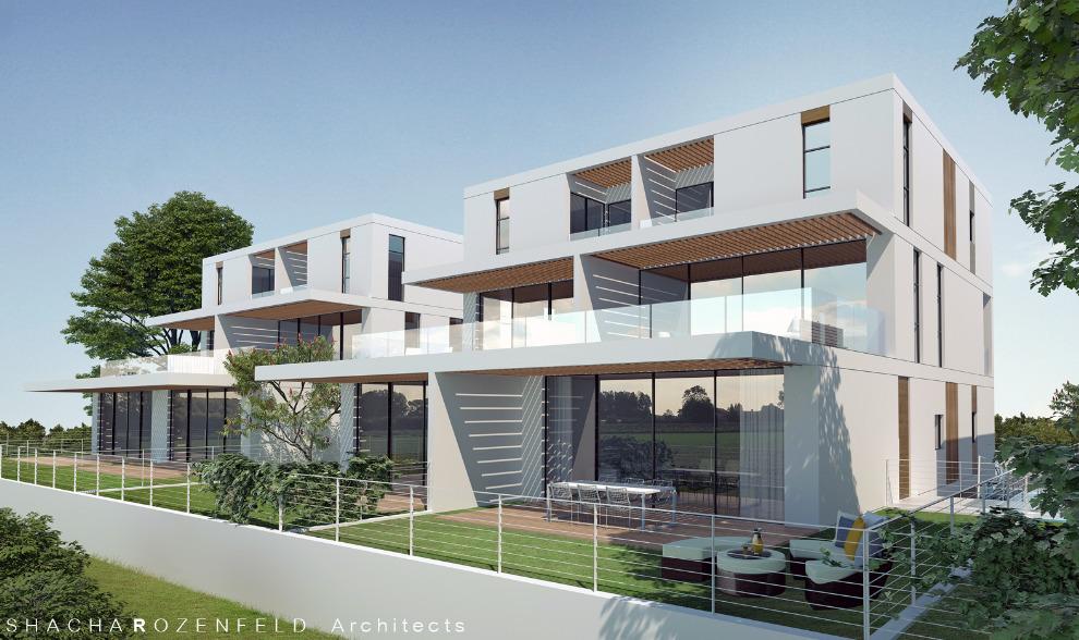 מצטיין פרויקט בוטיק בתל מונד - פרויקט דירות גן/גג חדש ויוקרתי - TOP7 HD-45